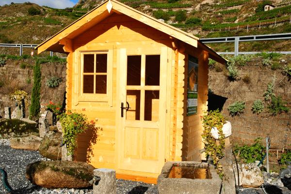 Cabane De Jardin En Bois Robuste Pour 980 Chf Abris Bois En Suisse